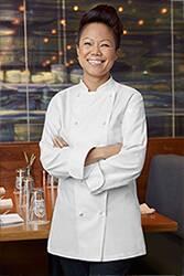 Elyse Womens Premium Cotton Chef Coat