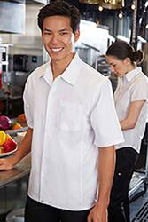 Cool Vent Cook Shirt: White