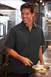 Pinstripe Cook Shirt