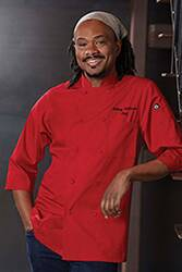 Three Quarter Sleeve Chef Coat