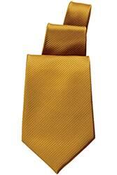 Solid Mustard Tie