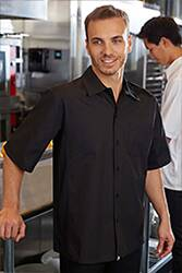 Cool Vent Cook Shirt: Black