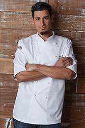 Capri Premium Cotton Chef Coat