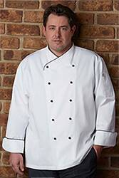 Champagne Executive Chef Coat