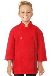 Kids Red Chef Coat
